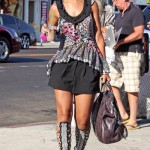 Rihanna Out Shopping In West Hollywood