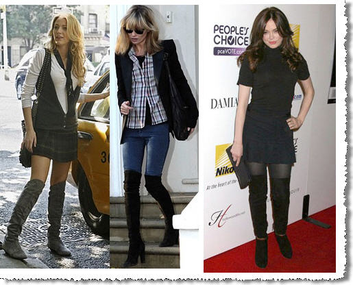 Over The Knee Boots in every style and height