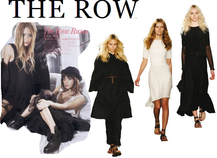 Clothing Line The Row The Row a luxurious line