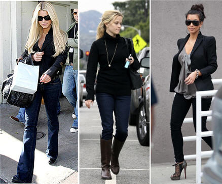 Celebrities Love J Brand Jeans : Reese Witherspoon, Jessica Simpson, Rhianna