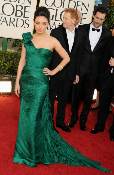 Mila Kunis Dress Golden Globes 2011 The Best of Golden Globes 2011 Red