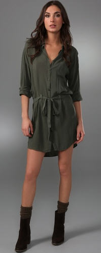 Splendid Button Up Dress