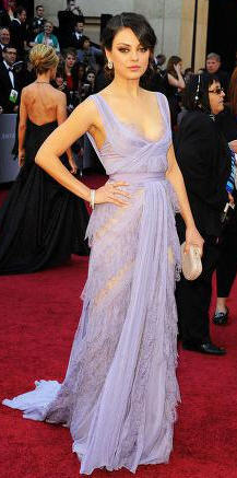 Mila Kunis Dress Oscars 2011