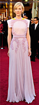 cate blanchett dress oscars 2011