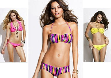 Express spring 2011 trend swim suits