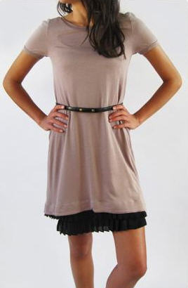 See by Chloe Dress with pleated hem
