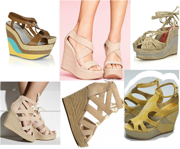 Extreme Wedges Summer 2011 Trends