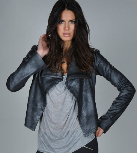 Georgie Leather Jacket