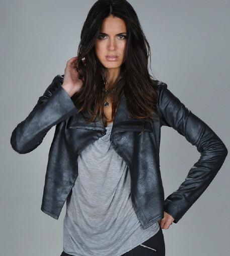 Georgie Leather Jacket