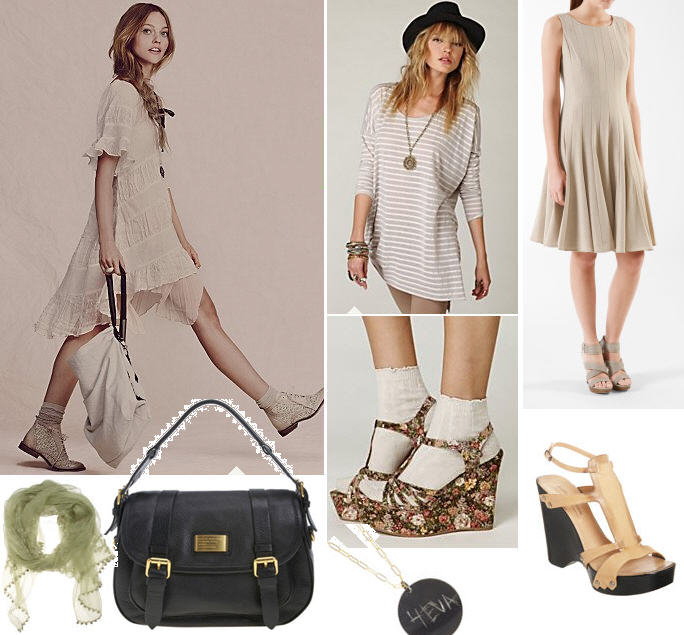 Free People collage and Super Sale