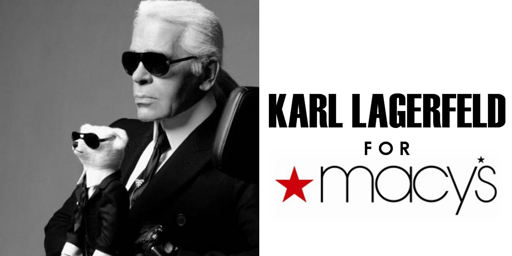 Karl Lagerfeld for Macys