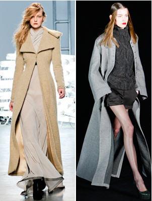 Fall 2011 Trend Sweeper  Coats