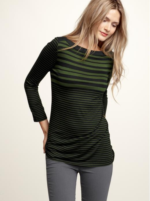 Gap Boatneck Multi Stripe Tee