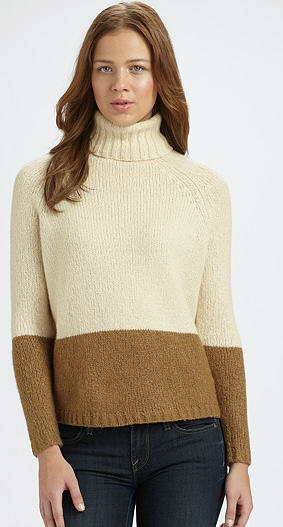 Fall 2011 Vince Colorbrock Turtleneck
