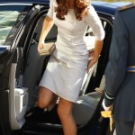 Kate Middleton in Amanda Wakeley Dress