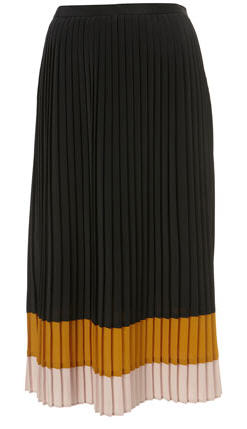 Midi Skirt Pleated TopShop
