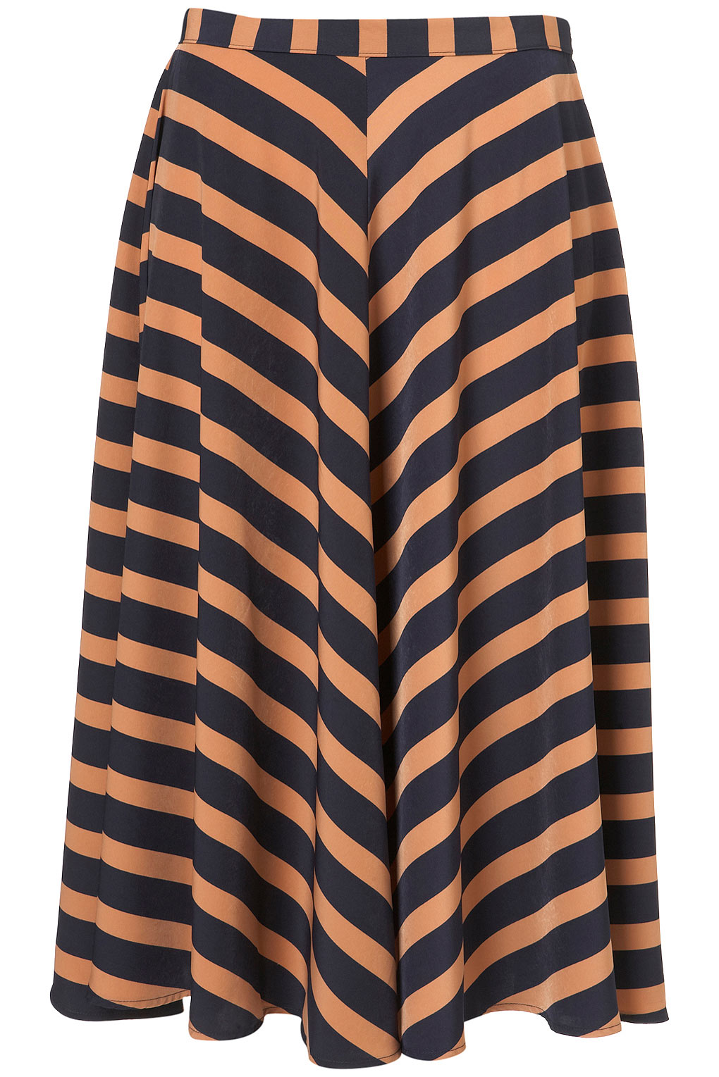 Midi Stripe Skirt Shoptop