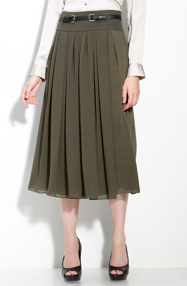 Midi Skirt | Skirt Trends | Fall 2011 Fashion Trends