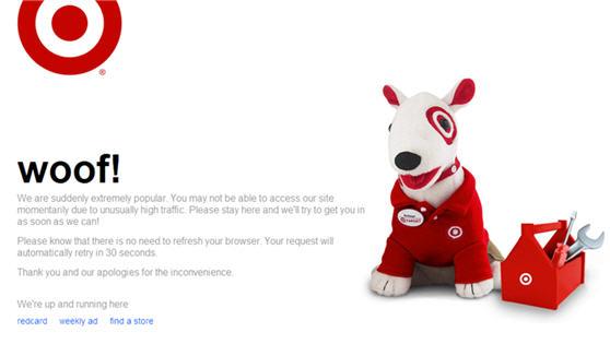 Target Woof Dog