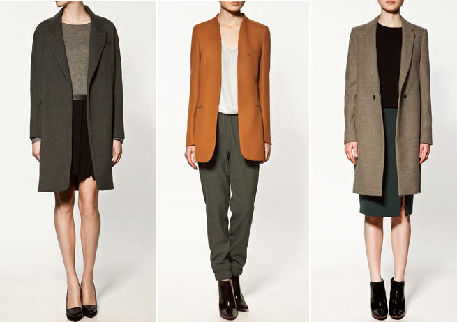 Zara Fall 2011 Best Coats