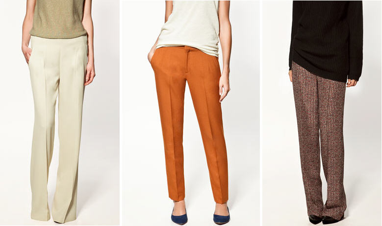 Zara Trousers Fall 2011