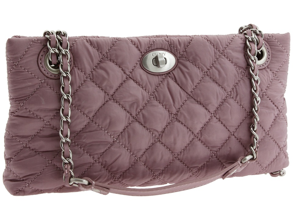 DKNY QUILTED NYLON CLUTCH, $75 (from $98)