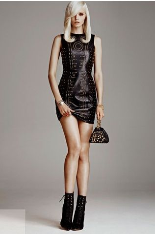 Versace for H & M Leather Dress
