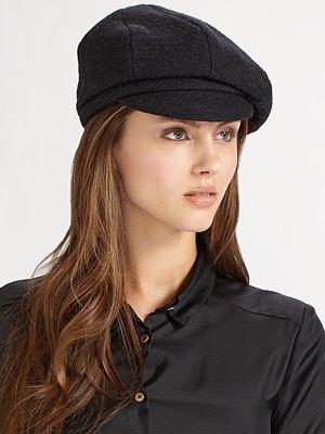 Helen Kaminski Fife Wool Cap