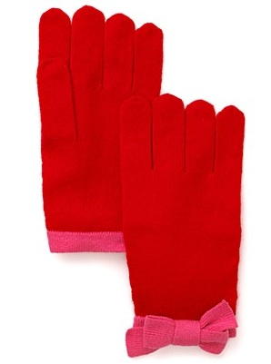 Kate Spade New York Bow Belle Gloves