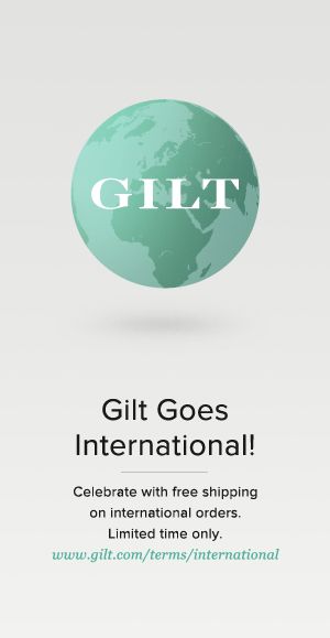 Gilt goes international