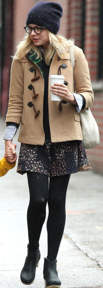 Michelle Williams Toggle Jacket