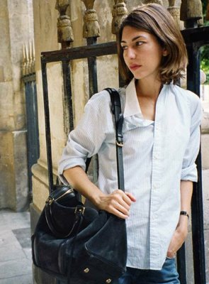Sofia Coppola Casual Chic