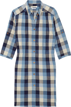 LEVI'S MADE & CRAFTED Plaid cotton shirt dress
