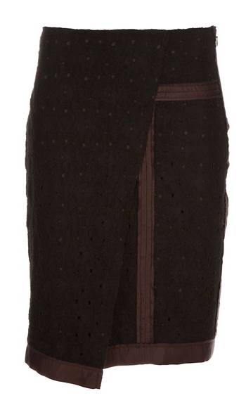 BOTTEGA VENETA KNEE-LENGTH SKIRT