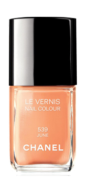 2012 Spring Nail Polish Trends - Oranges