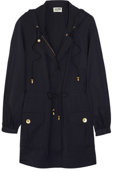 ALICE BY TEMPERLEY Birley hooded twill coat