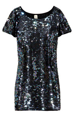 BIRD BY JUICY COUTURE Sequined wool dress