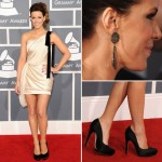 Kate Beckingsale Grammy 2012 in Zuhair Murad Dress
