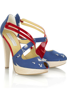 Stella McCartney Nautical Pattern Sandal