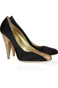STELLA MCCARTNEY Quinn satin pumps