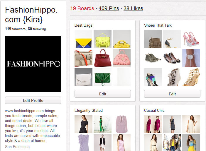 FashionHippo on Pinterest