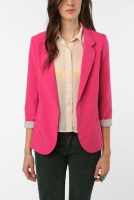 UrbanOutfitters Pink Blazer