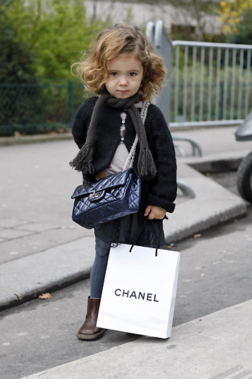 Little Fashionista in Chanel