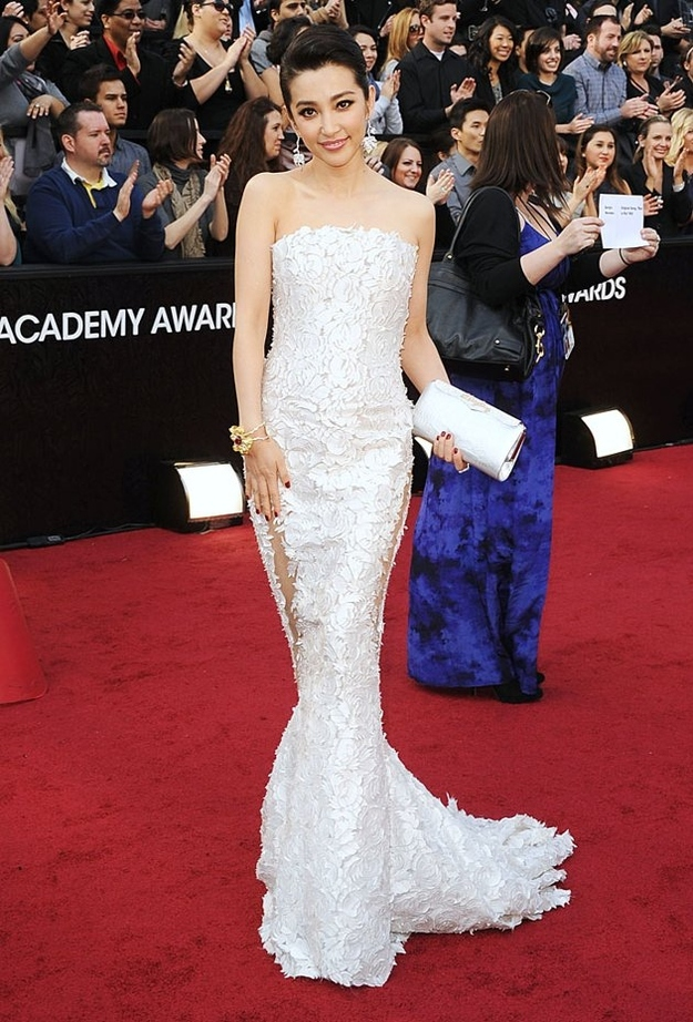 Oscar 2012 Bingbing Li Dress