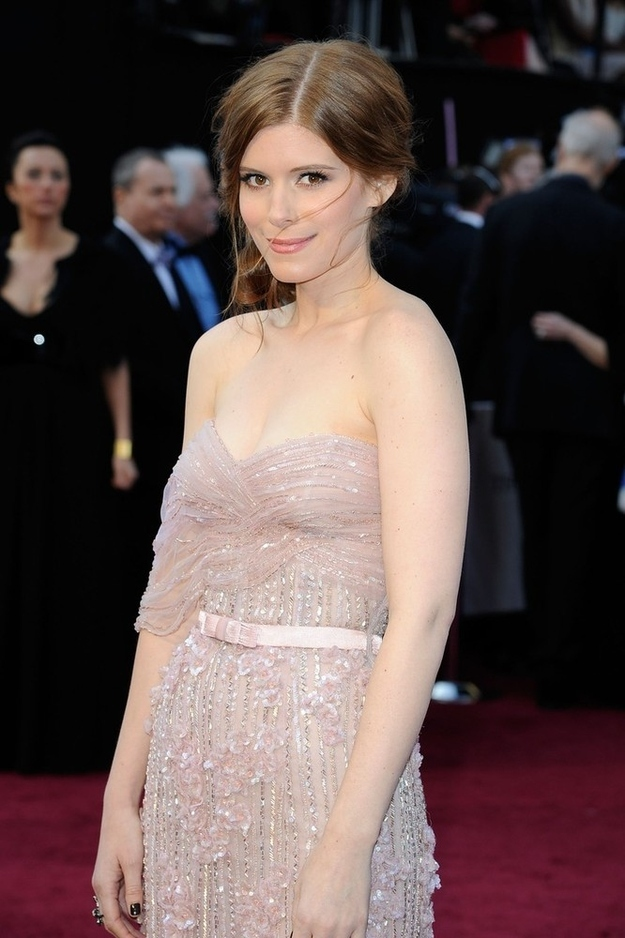 Kate Mara in Jack Guisso Couture dress