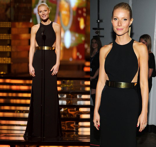Gwyneth Paltrow Grammys 2012 in Stella McCartney