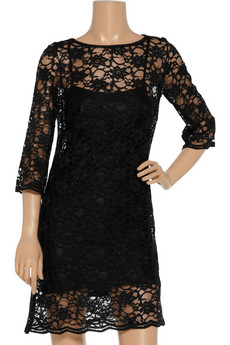 SARA BERMAN Lace dress, $210, from $42