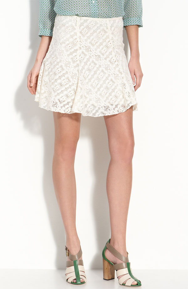 Elizabeth and James Darcy Lace Skirt