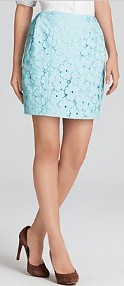 DVF Lace Skirt