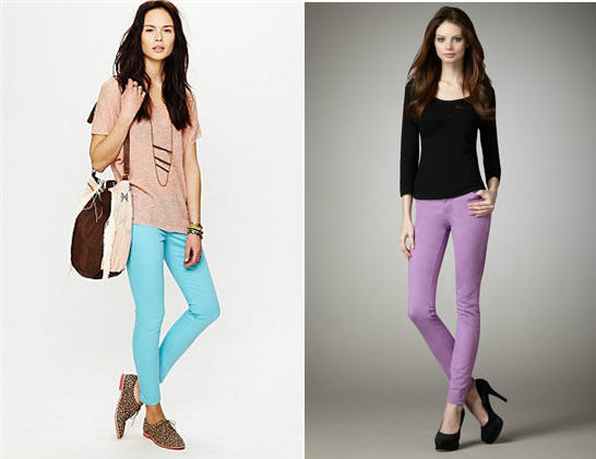 Free People CandyColor Jeans